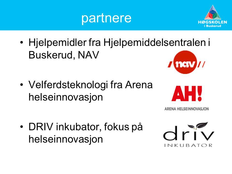 partnere Hjelpemidler fra Hjelpemiddelsentralen i Buskerud, NAV