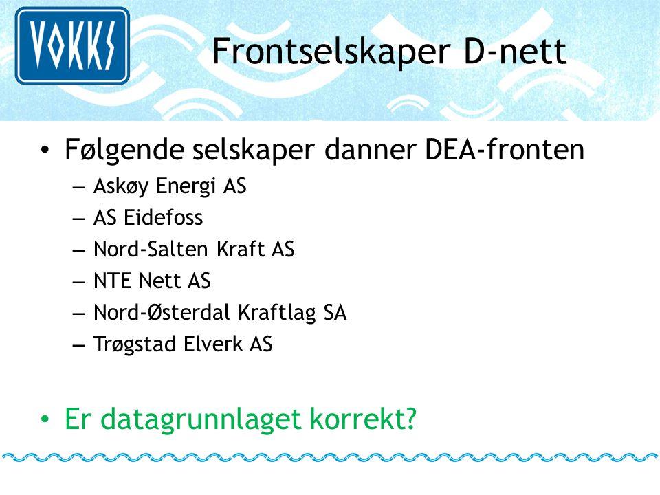 Frontselskaper D-nett