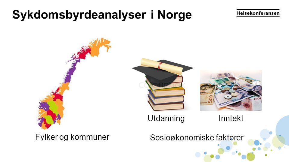 Sykdomsbyrdeanalyser i Norge
