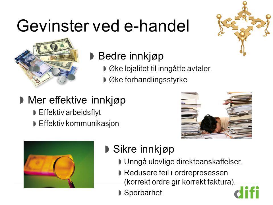 Gevinster ved e-handel