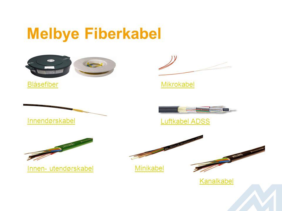 Melbye Fiberkabel Blåsefiber Mikrokabel Innendørskabel Luftkabel ADSS