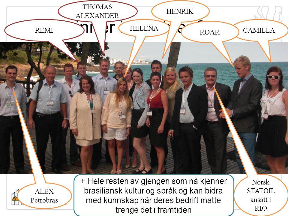 Norsk STATOIL ansatt i RIO