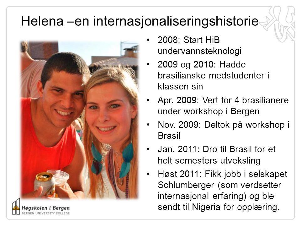 Helena –en internasjonaliseringshistorie