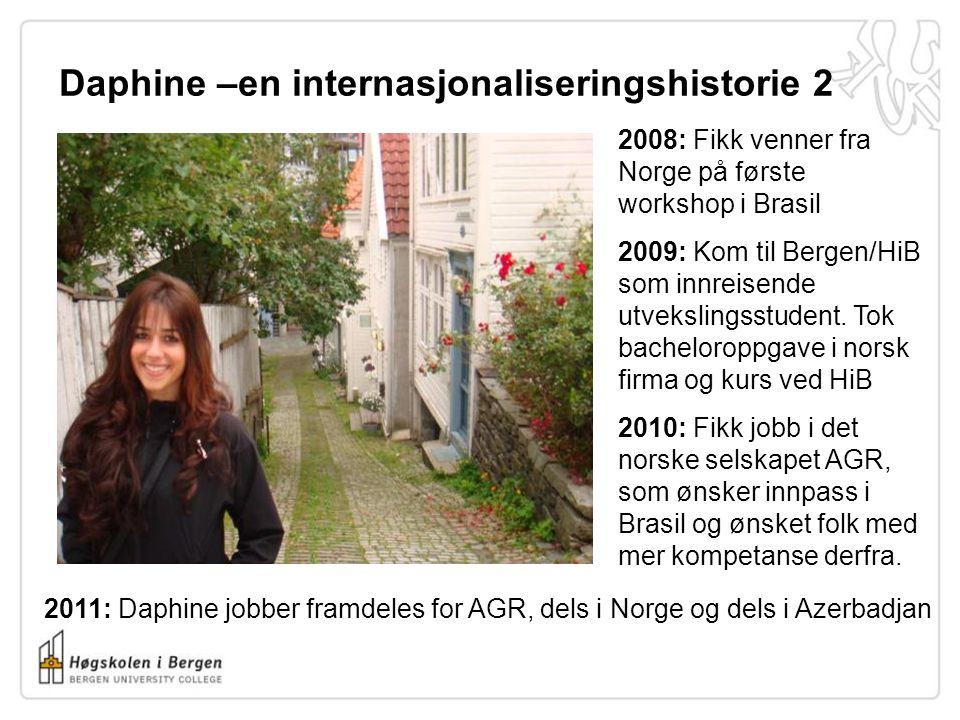 Daphine –en internasjonaliseringshistorie 2