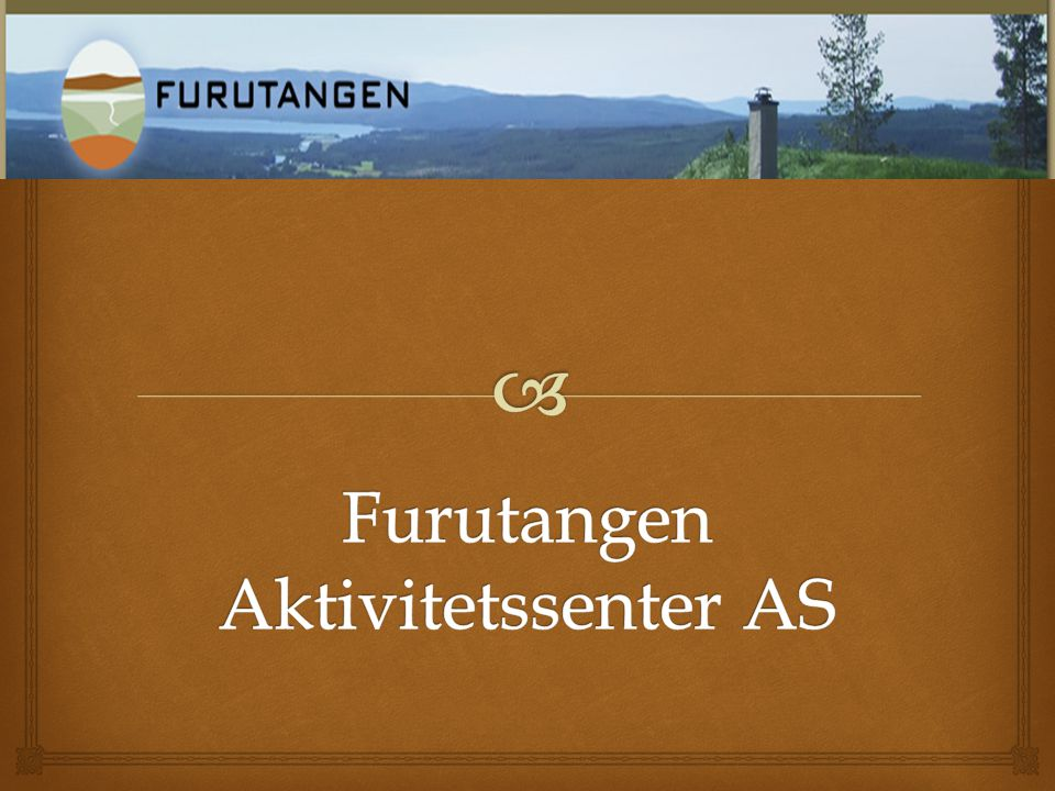 Furutangen Aktivitetssenter AS