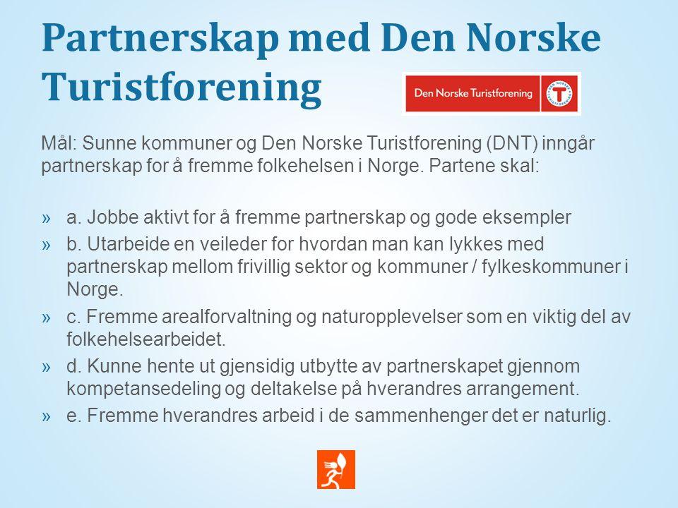 Partnerskap med Den Norske Turistforening