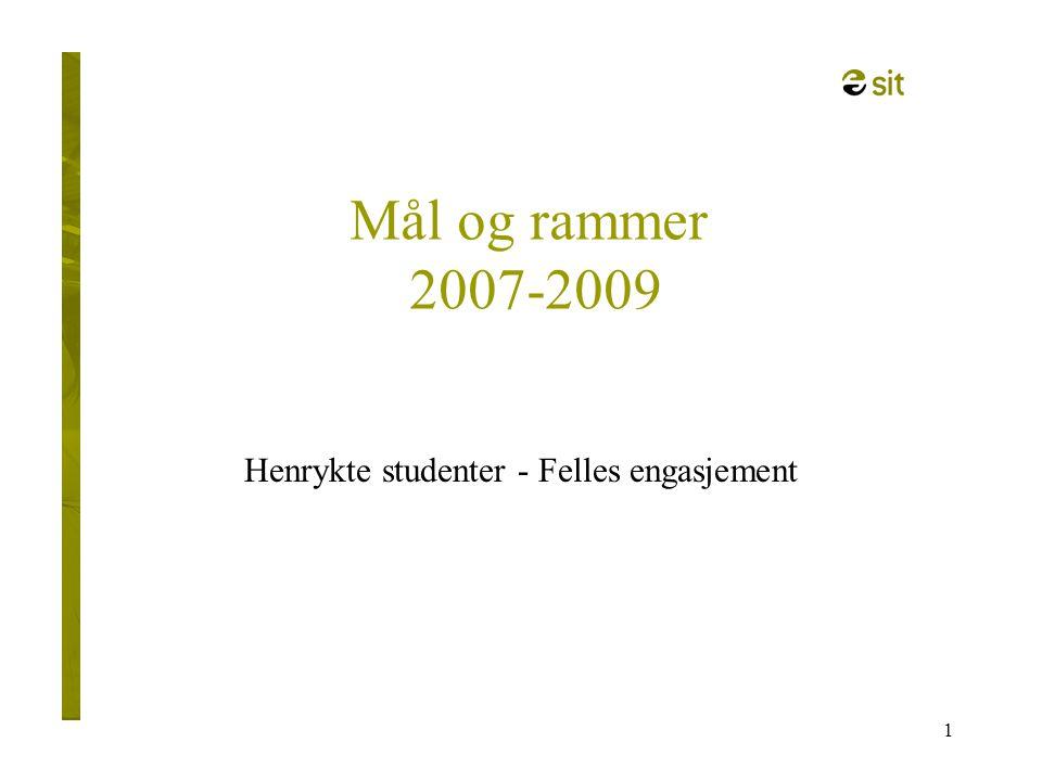 Henrykte studenter - Felles engasjement