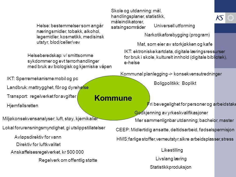 Kommune Skole og utdanning: mål, handlingsplaner, statistikk,