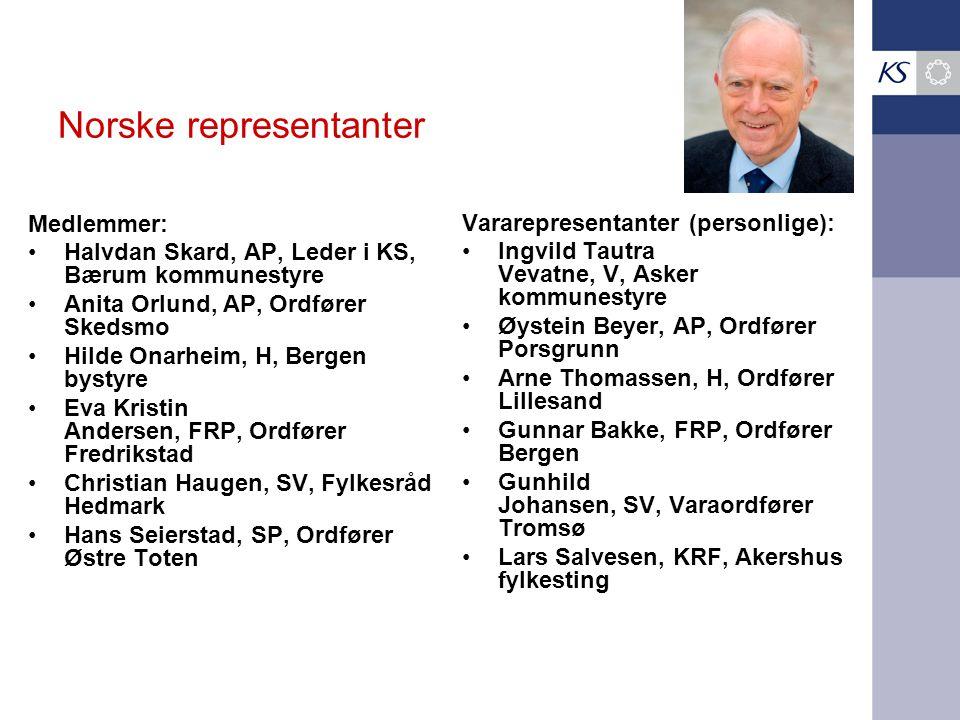 Norske representanter