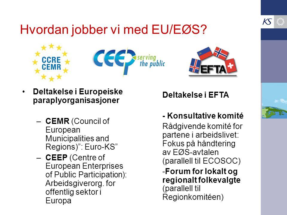 Hvordan jobber vi med EU/EØS