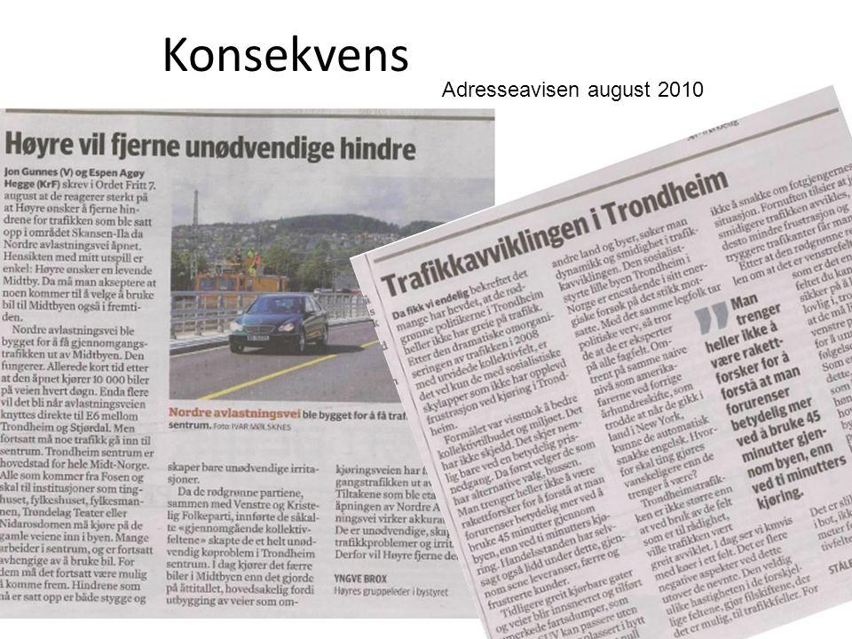 Konsekvens Adresseavisen august 2010