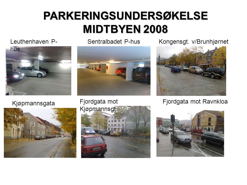 PARKERINGSUNDERSØKELSE MIDTBYEN 2008