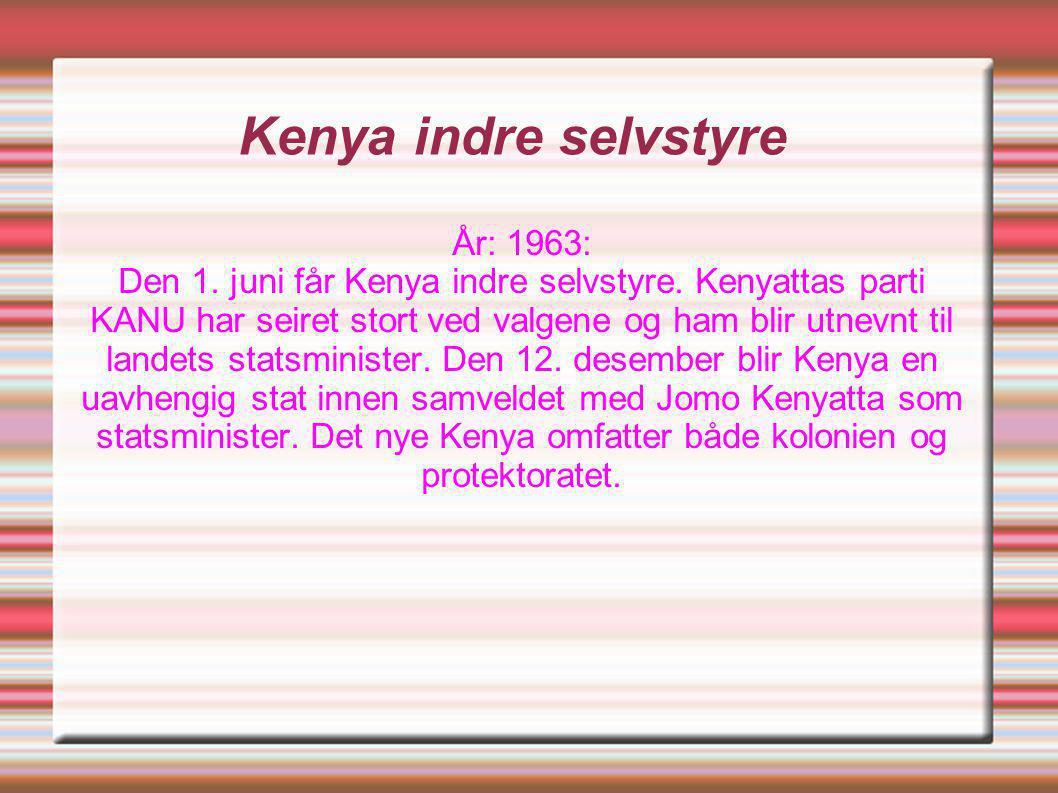 Kenya indre selvstyre