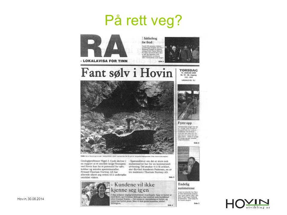 På rett veg Hovin, 03.04.2017