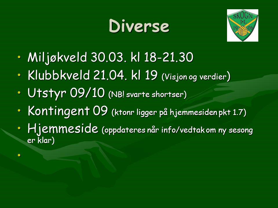 Diverse Miljøkveld 30.03. kl 18-21.30