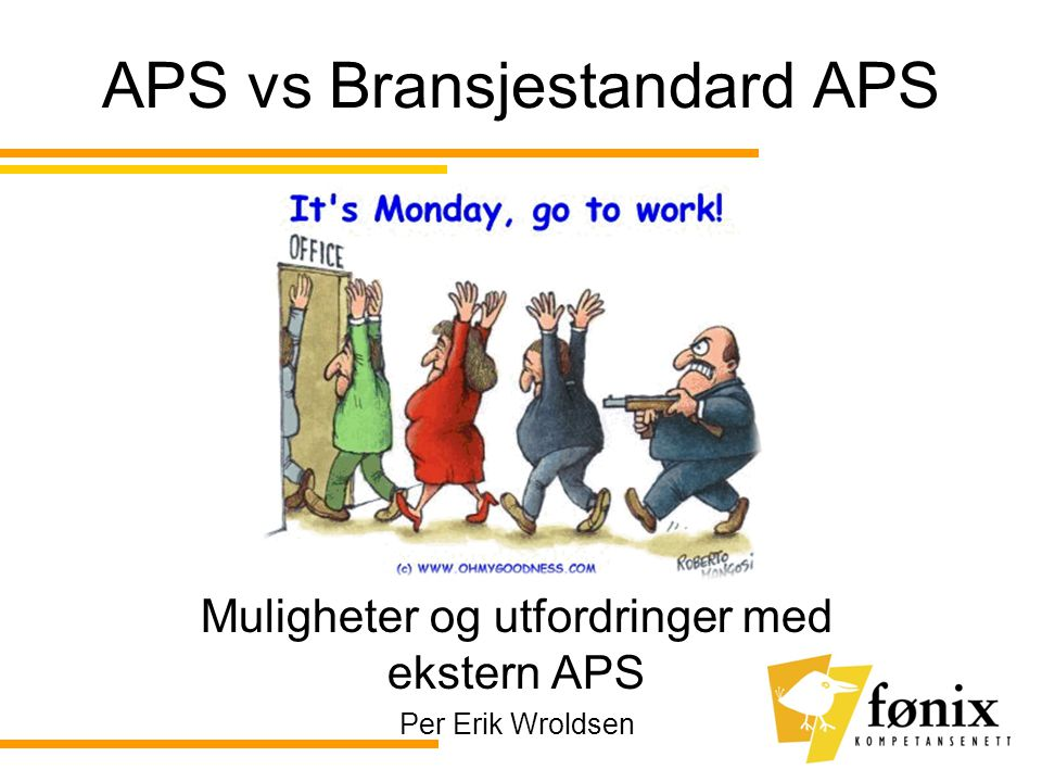 APS vs Bransjestandard APS