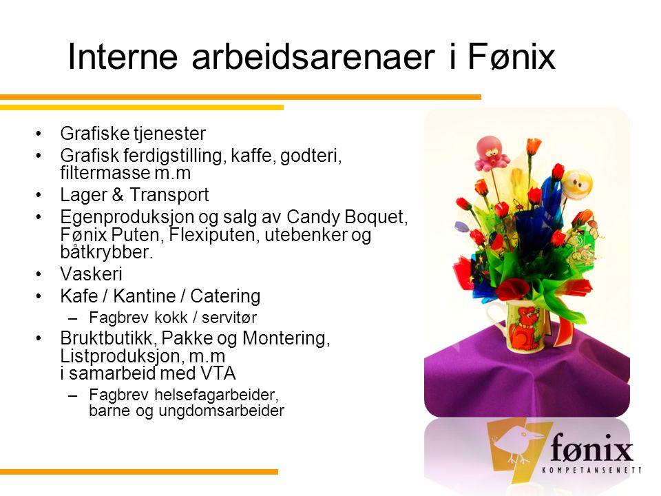 Interne arbeidsarenaer i Fønix