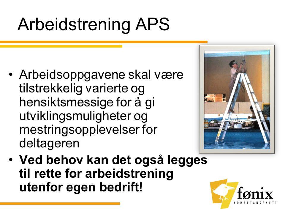 Arbeidstrening APS