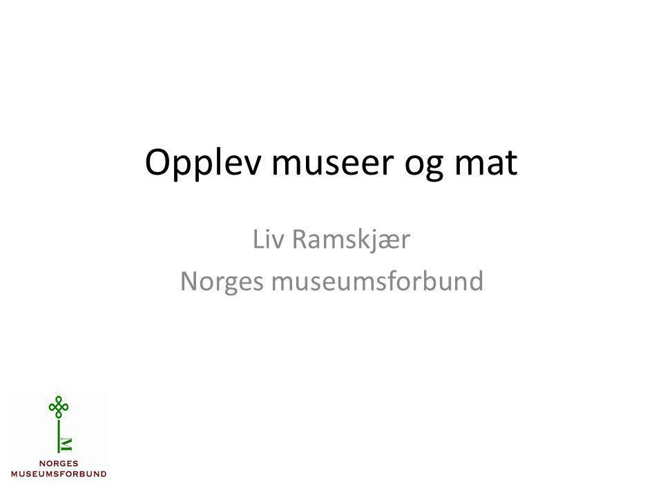 Liv Ramskjær Norges museumsforbund