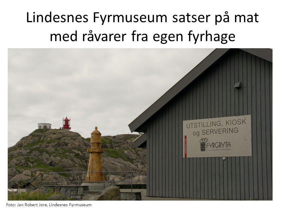 Lindesnes Fyrmuseum satser på mat med råvarer fra egen fyrhage