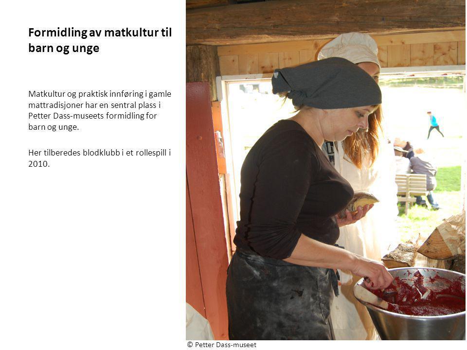 Formidling av matkultur til barn og unge