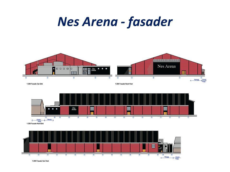 Nes Arena - fasader