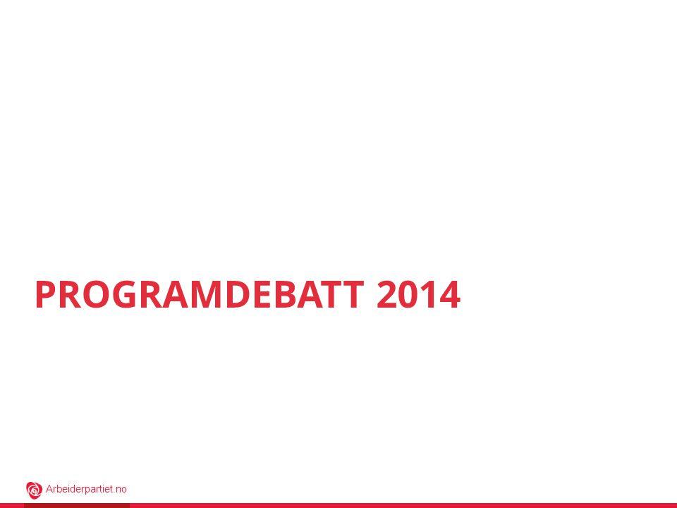 Programdebatt 2014 Hei!