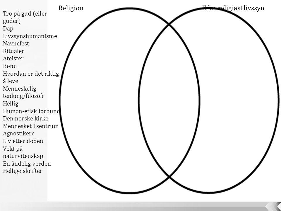 Ikke-religiøst livssyn