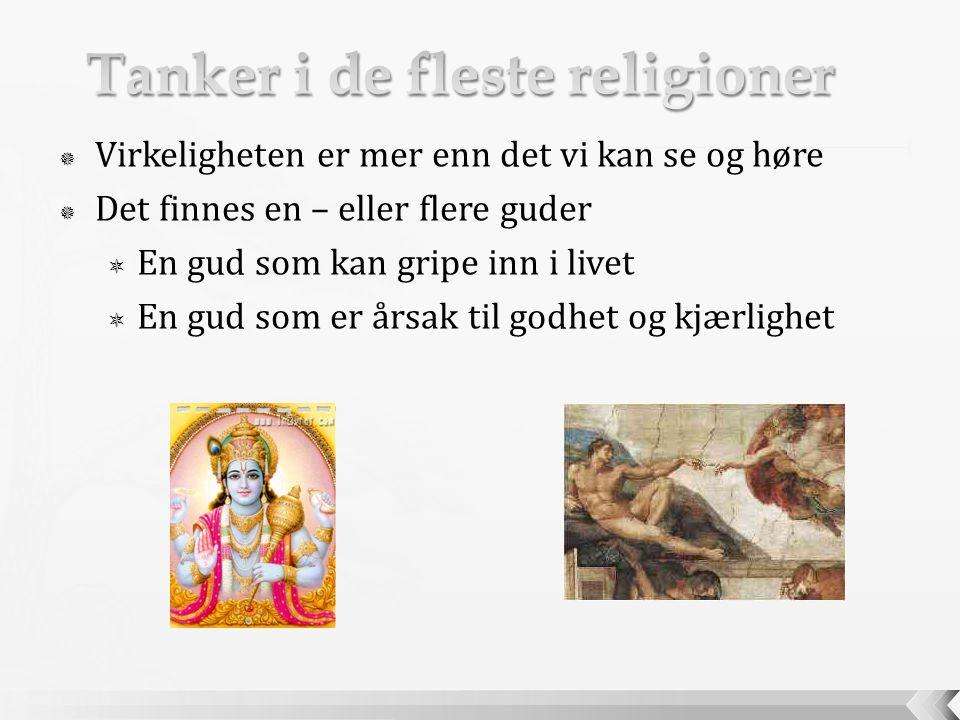 Tanker i de fleste religioner