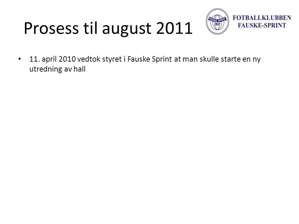 Prosess til august 2011 11.