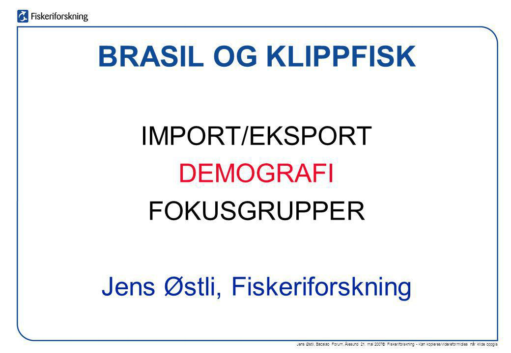 Jens Østli, Fiskeriforskning