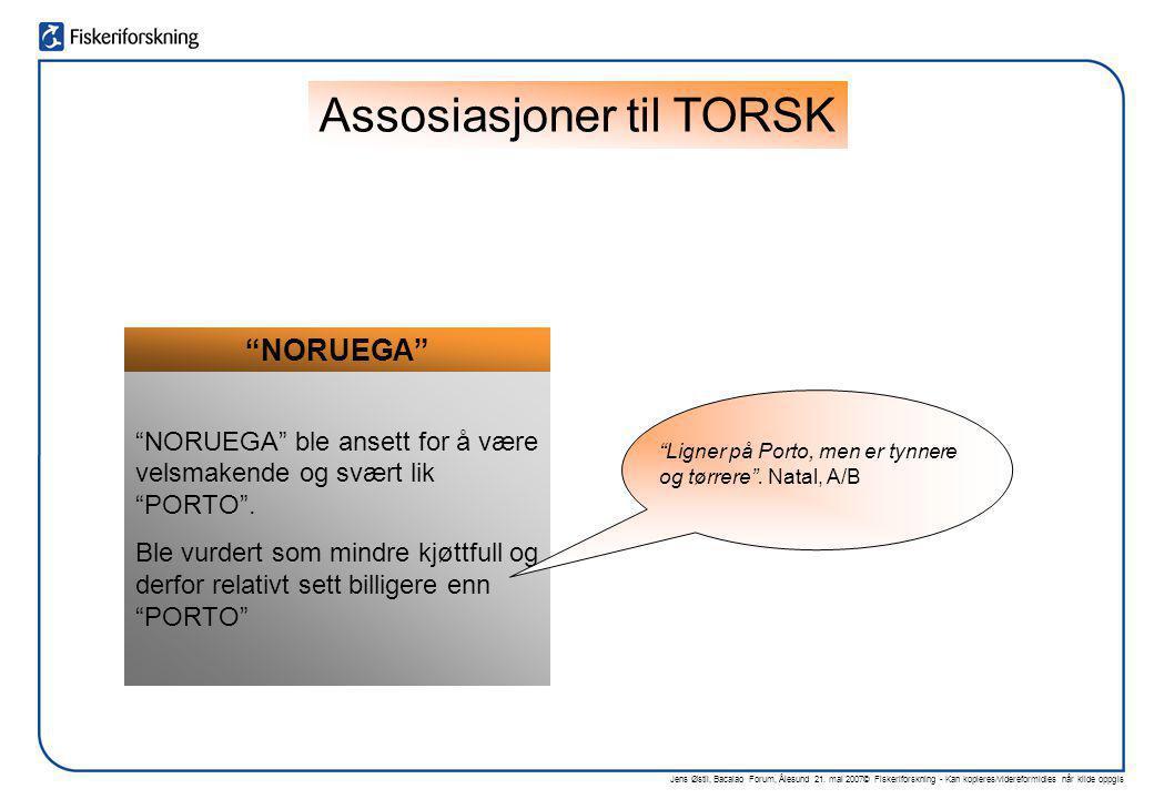 Assosiasjoner til TORSK