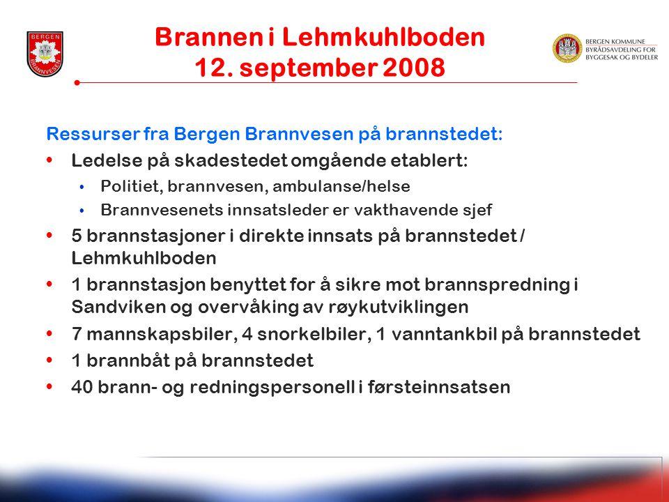 Brannen i Lehmkuhlboden 12. september 2008