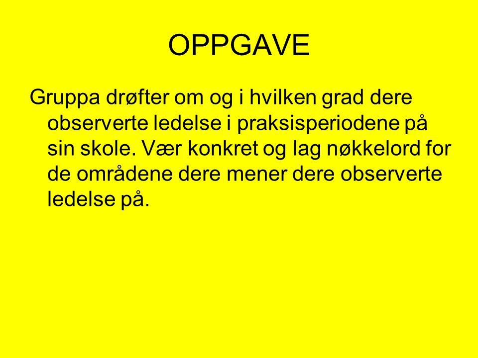 OPPGAVE