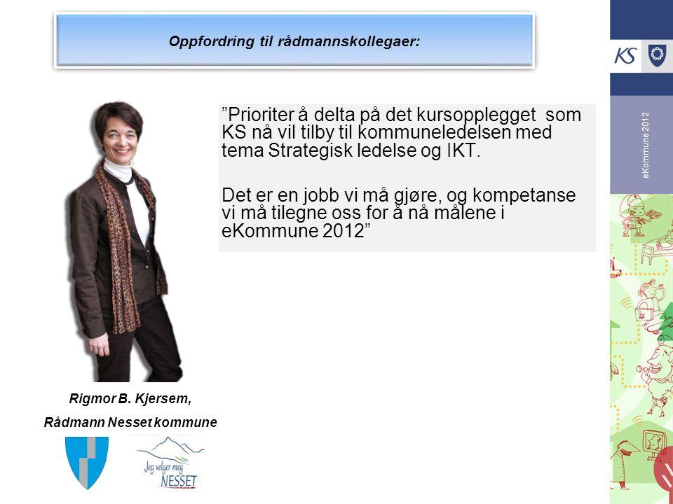 Oppfordring til rådmannskollegaer: Rådmann Nesset kommune