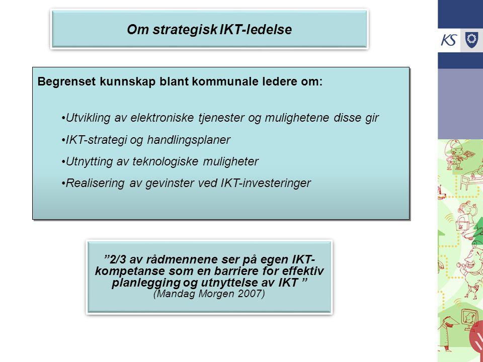 Om strategisk IKT-ledelse