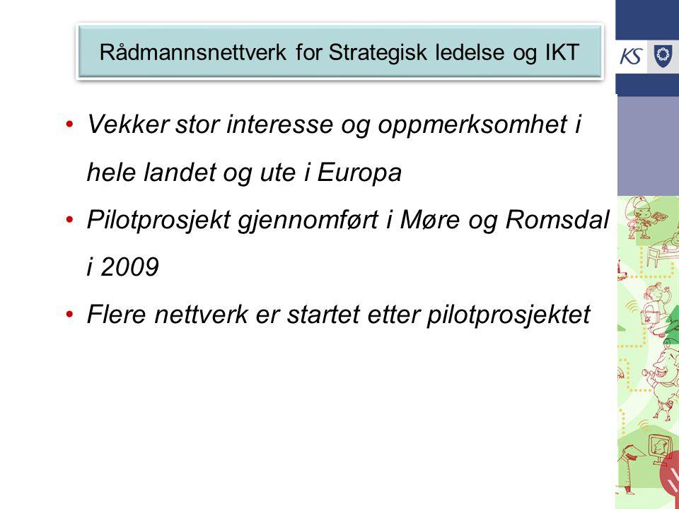 Rådmannsnettverk for Strategisk ledelse og IKT