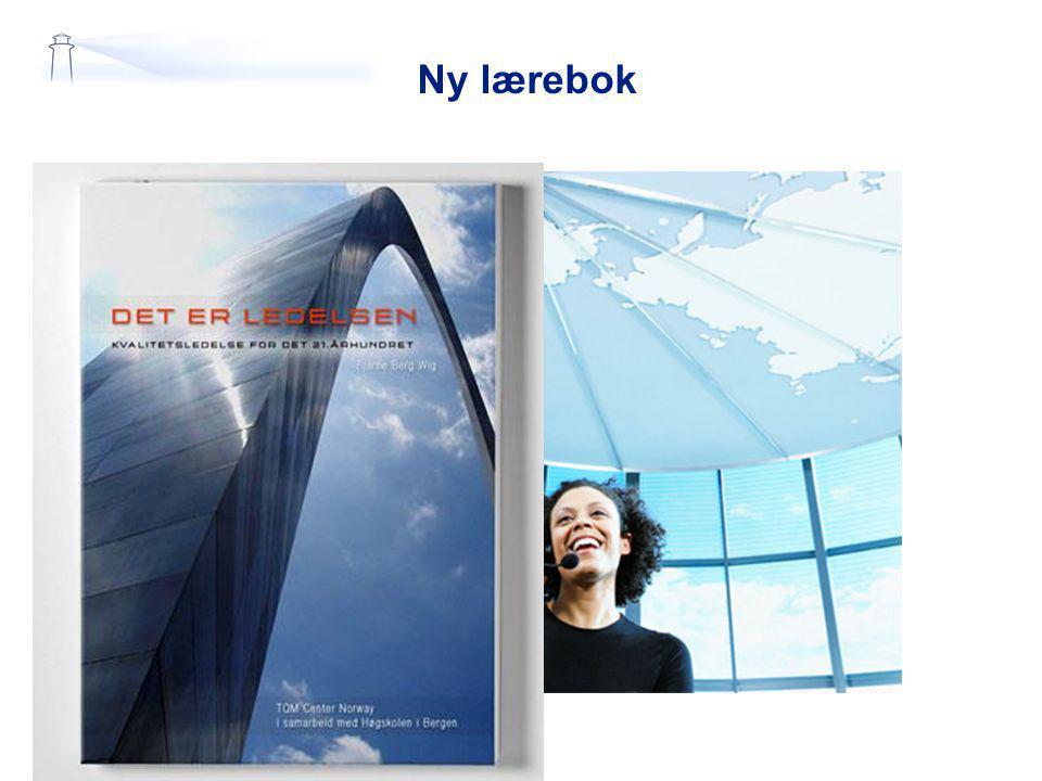 Ny lærebok Bruk boka, lær og kom med forbedringer!