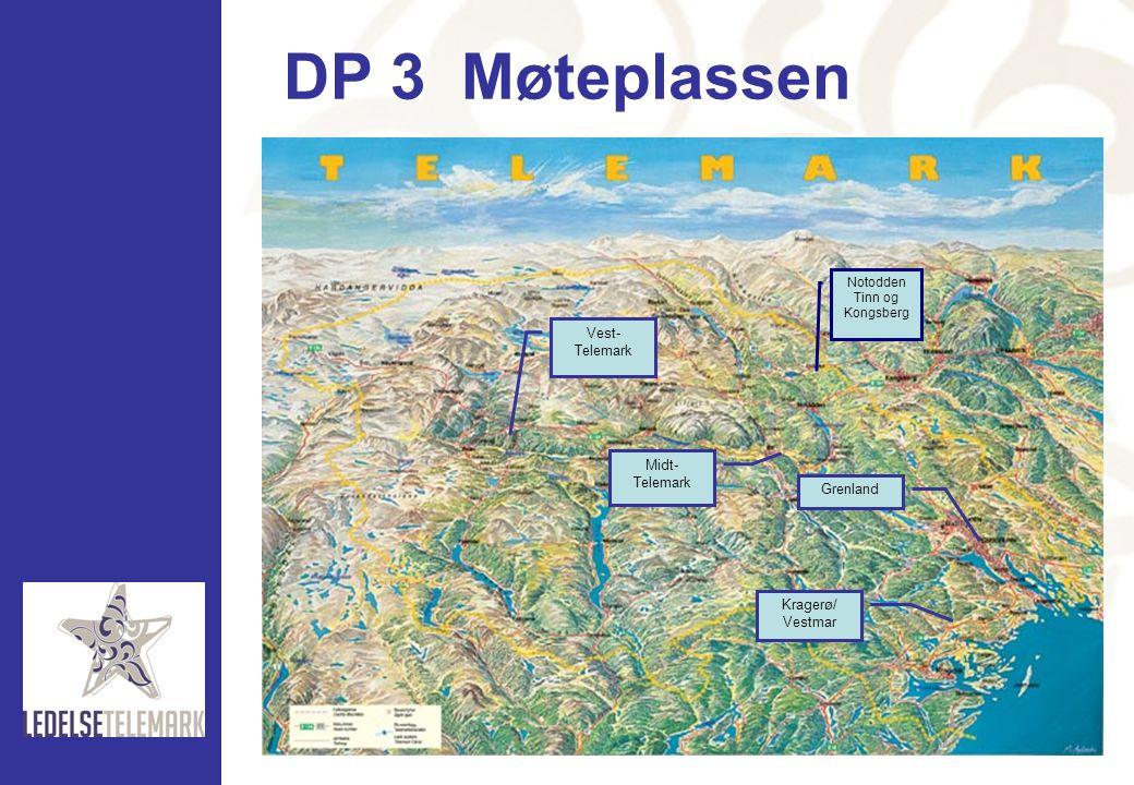 DP 3 Møteplassen Vest-Telemark Midt- Telemark Grenland Kragerø/
