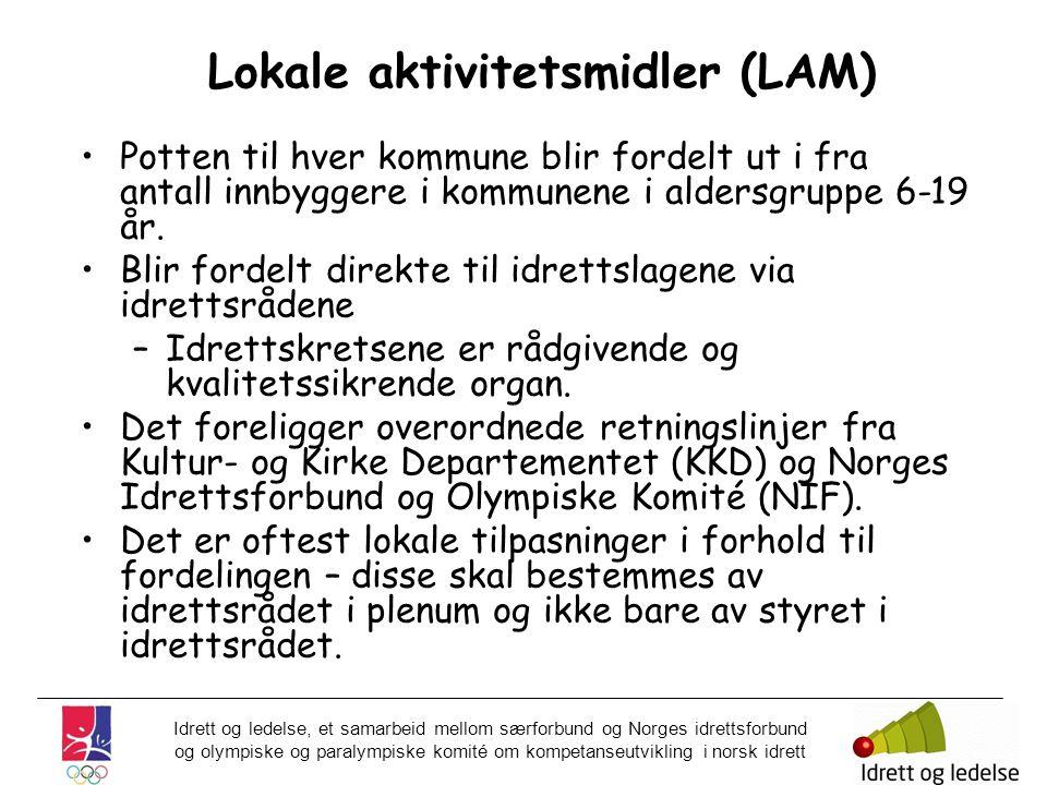 Lokale aktivitetsmidler (LAM)