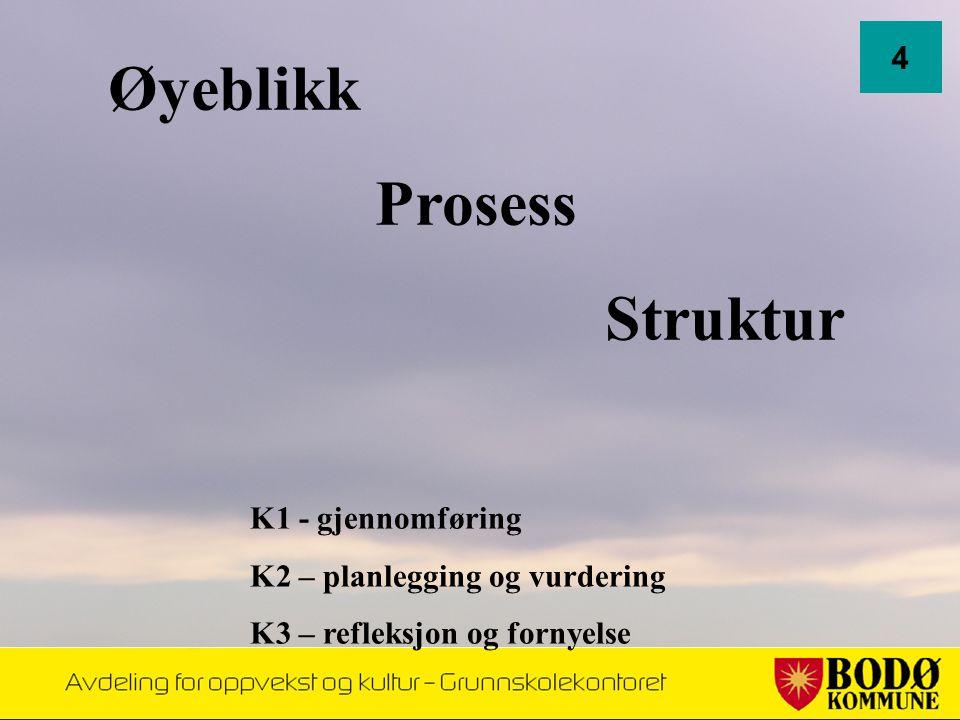 Øyeblikk Prosess Struktur 4 K1 - gjennomføring