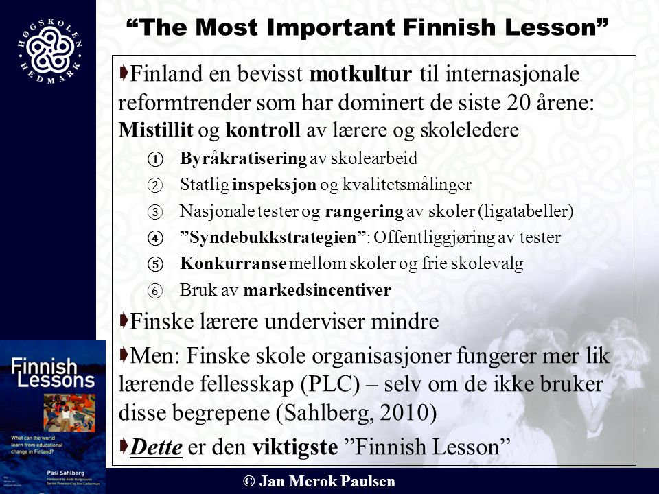 The Most Important Finnish Lesson