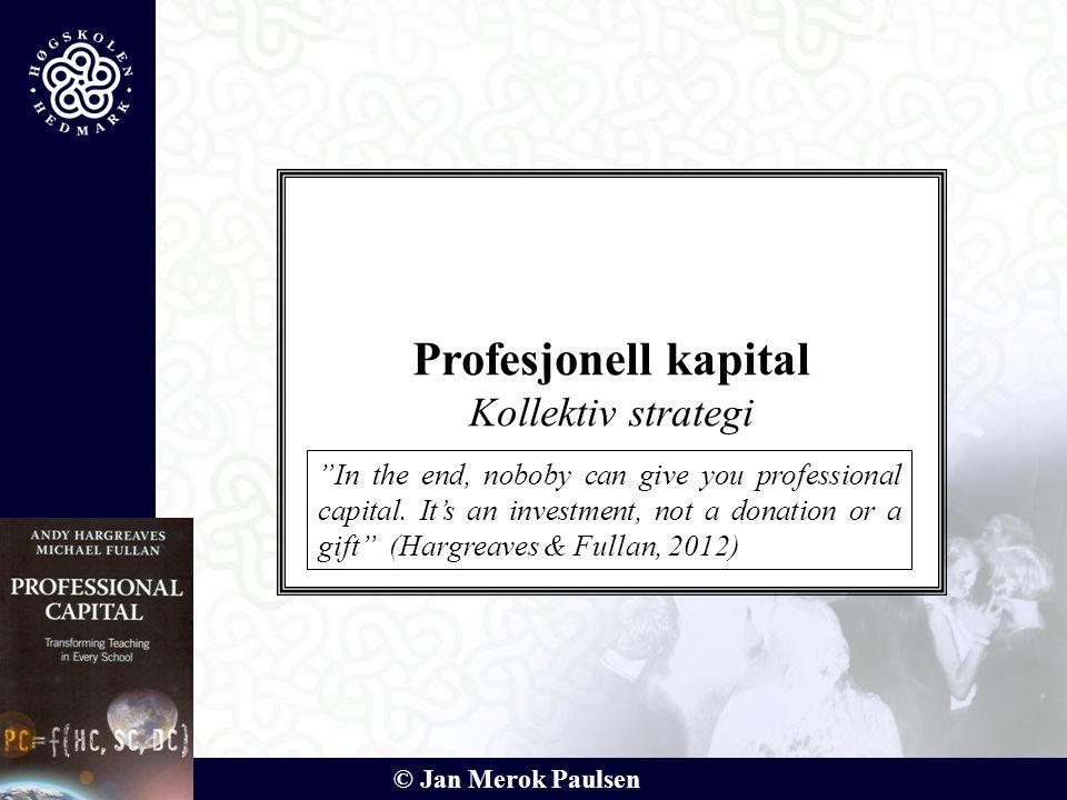 Profesjonell kapital Kollektiv strategi