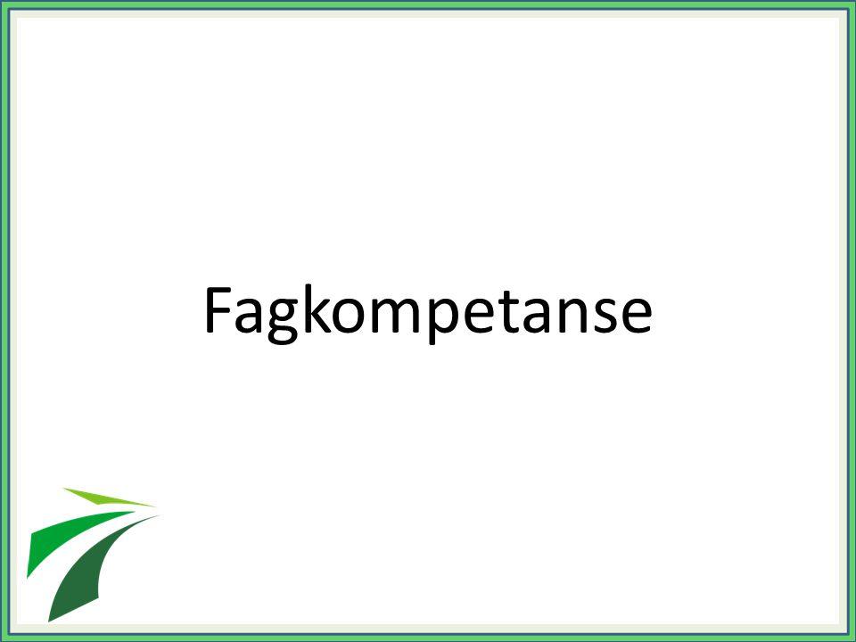 Fagkompetanse