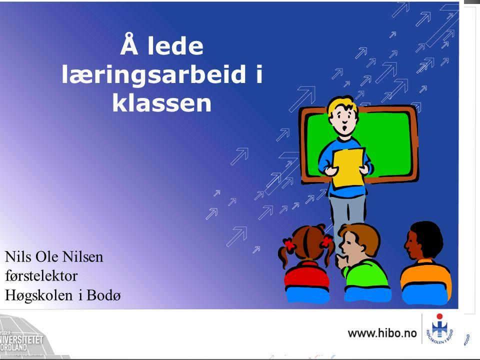 læringsarbeid i klassen