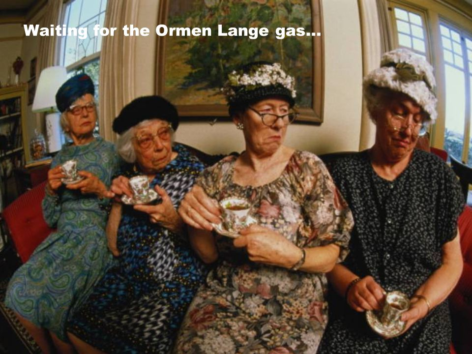 Waiting for the Ormen Lange gas…