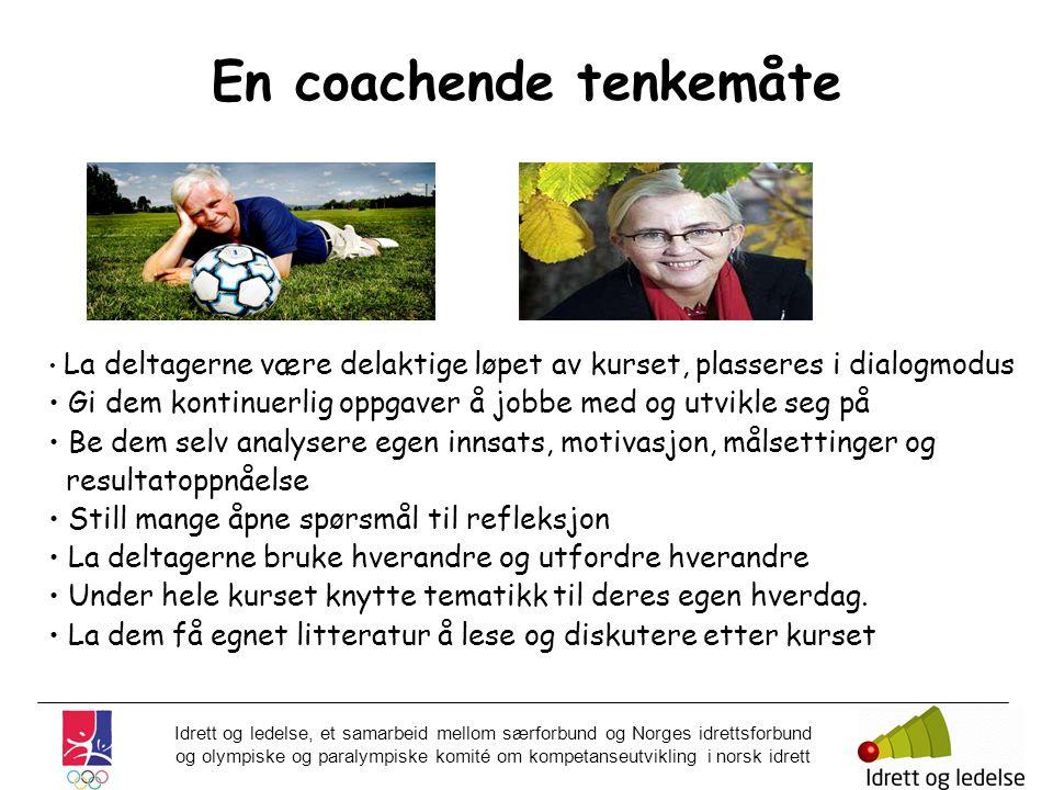 En coachende tenkemåte