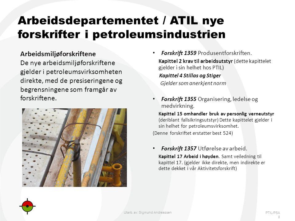 Arbeidsdepartementet / ATIL nye forskrifter i petroleumsindustrien