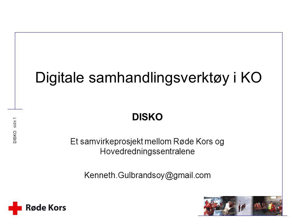 Digitale samhandlingsverktøy i KO