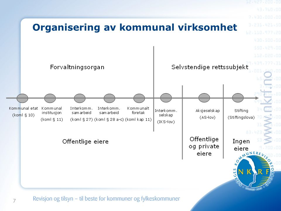 Organisering av kommunal virksomhet